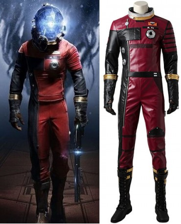 Prey Morgan Yu Cosplay Costume