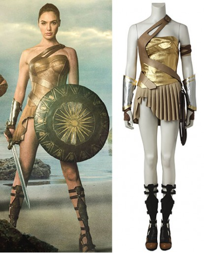 Wonder Woman Diana Prince Cosplay Costume