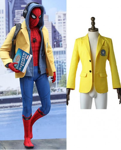 Peter Parker Spiderman Homecoming Peter Benjamin Parker Coat