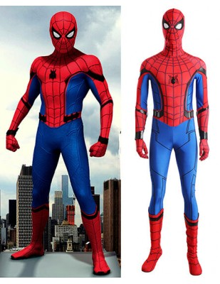 Spider-Man: 2018 Deluxe Homecoming Cosplay Costume Suit