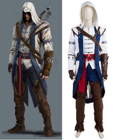 Connor Assassin's Creed Cosplay Costume