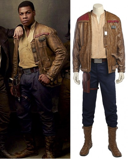 Finn Cosplay Costume of Star Wars 8 The Last Jedi