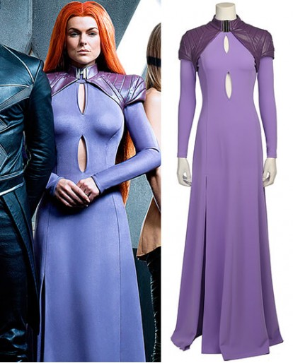 Marvel Inhumans Medusa Cosplay Costume