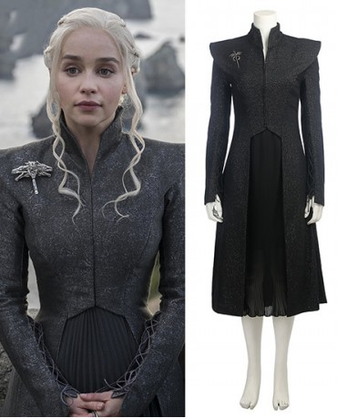 Daenerys Targaryen Game of Thrones Season 7 Cosplay Costume