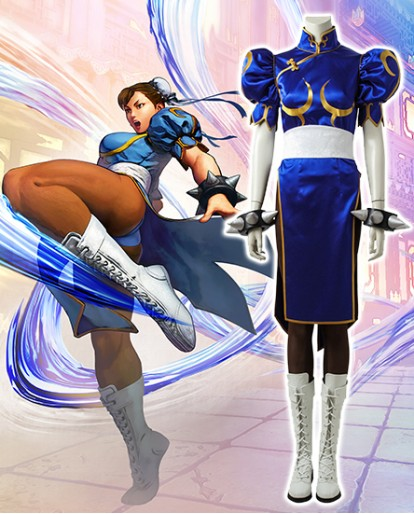 Chun Li Cosplay Costume of Street Fighter V