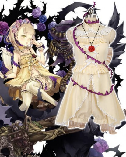 SINoAlice Briar Rose Gunner Sleepy Beauty Cosplay Costume
