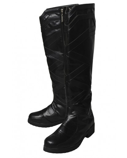 Movie THOR 3 Ragnarok Valkyrie Cosplay Boots