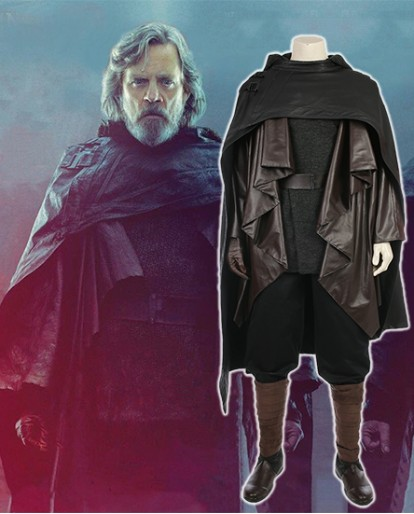 Luke Skywalker Outfit inStar Wars 8 The Last Jedi