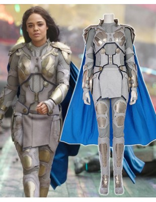 Valkyrie Grey soldier outfit costume from Thor Ragnarok