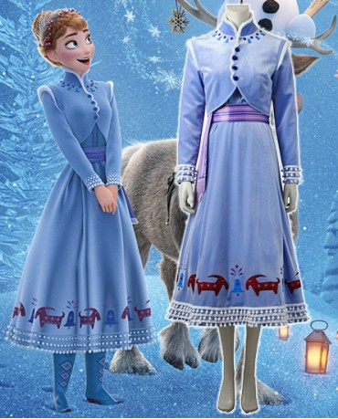 Olaf's Frozen Adventure Anna costume