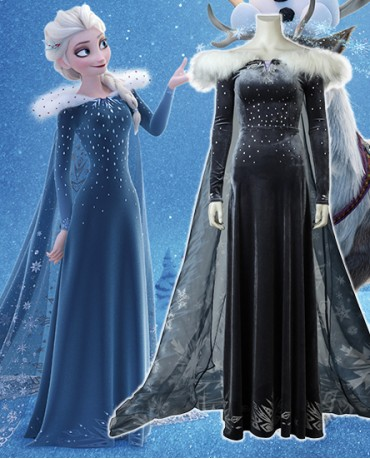 Olaf's Frozen Adventure Elsa costume