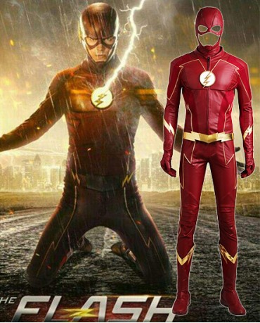 Barry Allen's New Suit of The Flash Season 4