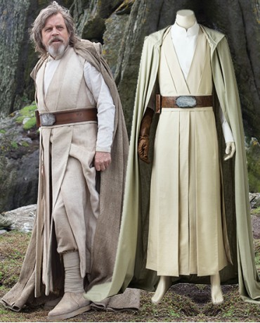 Luke Skywalker robe costume from The Last Jedi