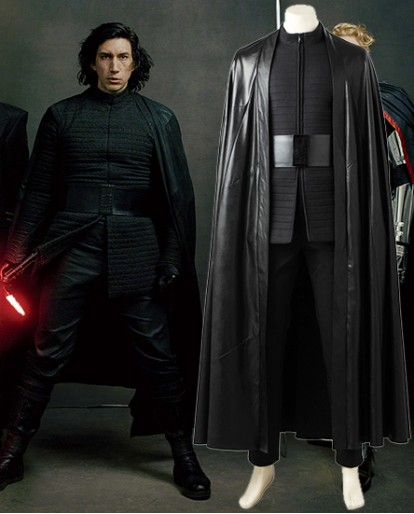 Kylo Ren Costume of Star Wars: The Last Jedi