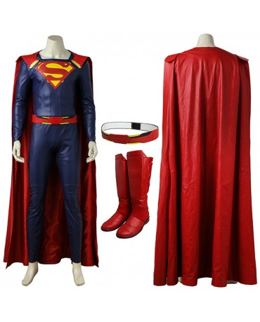 Superman Clark Kent Costume in DC Supergirl Season 2