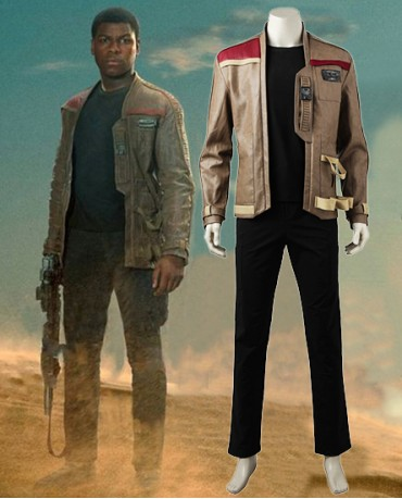 Star Wars Episode VIII The Last Jedi Finn Cosplay Costume