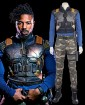 Black Panther Costume Erik Killmonger Uniform