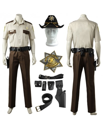 The Walking Dead Season Rick Grimes costume