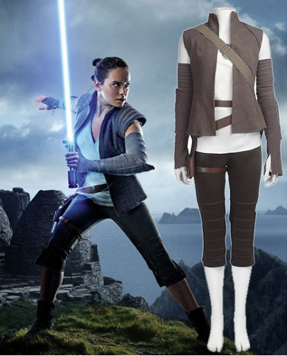 Star Wars Last Jedi Rey cosplay costume