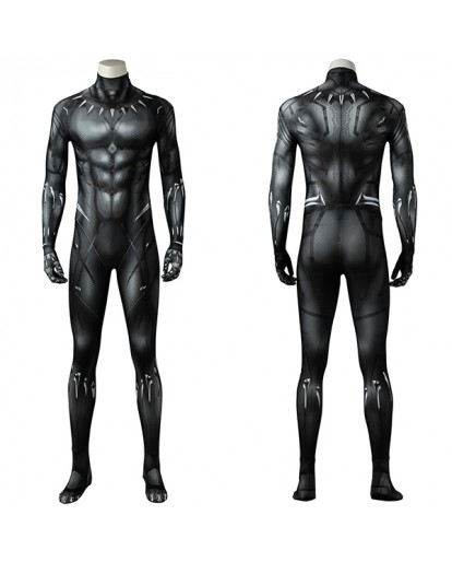 Black Panther T'Challa 3D Printed Cosplay Costume