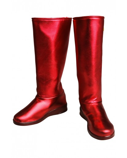 Ms. Marvel Captain Marvel Carol Danvers Cosplay Boots