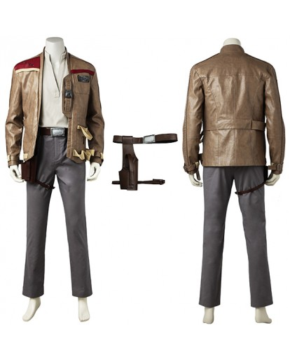 Star Wars :Last Jedi Luke Finn Cosplay Costume
