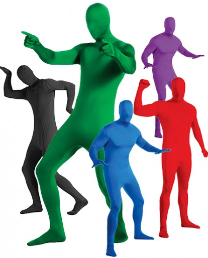Custom Zentai Suits Cosplay Costumes with Multiple Colors