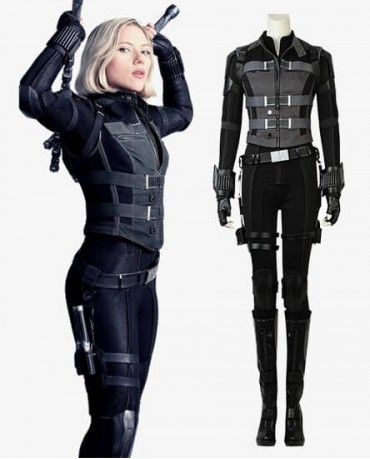 Avengers: Infinity War Black Widow Natasha Romanoff Cosplay Costume
