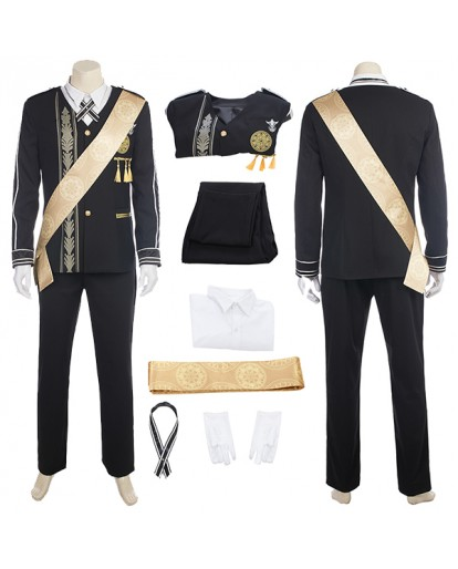Final Fantasy XV Prince Noctis Lucis Cosplay Costume: Formal Suit