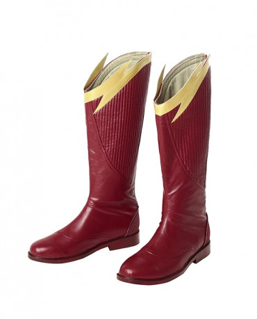 The Flash Season 4 Barry Allen Cosplay Boots