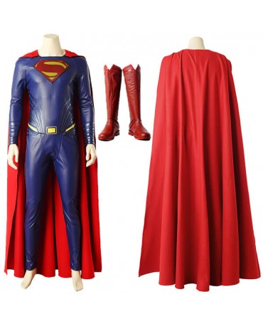 DC Justice League Superman Cosplay Costume