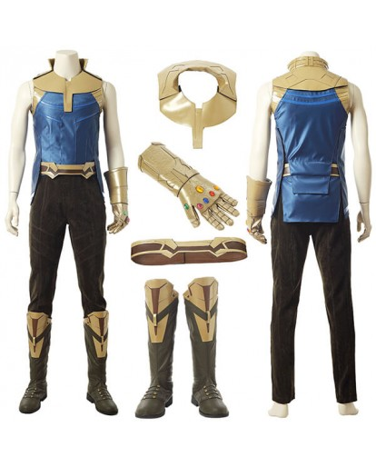 2018 Avengers 3: Infinity War Thanos Cosplay Costume