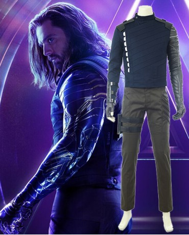 The Avengers 3 Winter Soldier Cosplay Costume