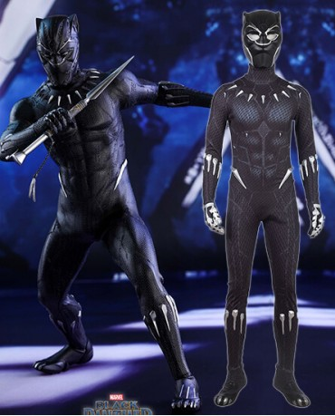 Black Panther Cosplay Costume