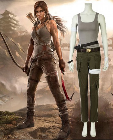 tomb raider lara croft cosplay costume. Black Bedroom Furniture Sets. Home Design Ideas