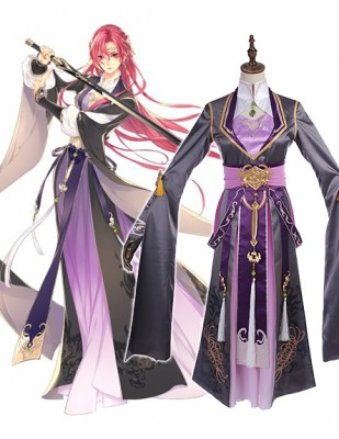 Dream Set Lady Sword Cosplay Costume
