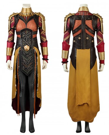 2018 Black Panther Okoye Cosplay Costume Outfit Avengers Infinity War