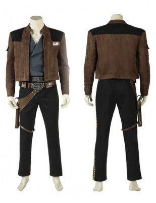 Solo A Star Wars Story Han Solo Cosplay Costume