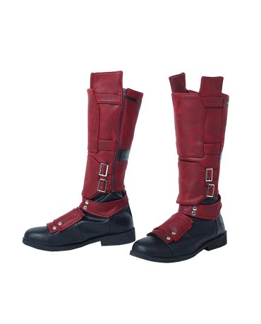 The Latest Deadpool 2 Wade Wilson Cosplay Boots