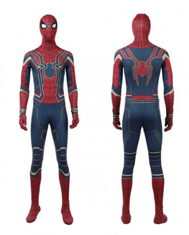 2018 Avengers: Infinity War Spiderman Cosplay Costume Halloween Fullbody Tights