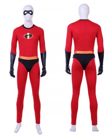 The Incredibles 2 Bob Parr Mr Incredible Costume Cosplay Halloween