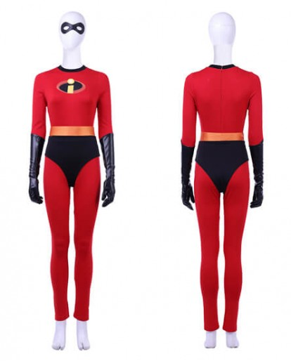 The Incredibles 2 Elastigirl Helen Parr Cosplay Costume Full Suit