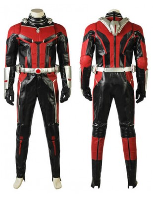 Ant-Man and the Wasp Ant-Man Scott Lang Cosplay Costume Leather Full Suit