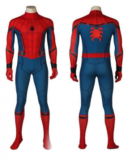 Civil War Spiderman Costume 3D Shade Spandex Fullbody Halloween Cosplay Spider-man Superhero Costume