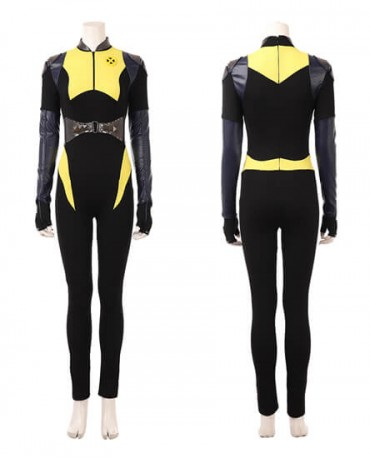2018 Newest Deadpool 2 Negasonic Costume Teenage Warhead Halloween Cosplay Suit