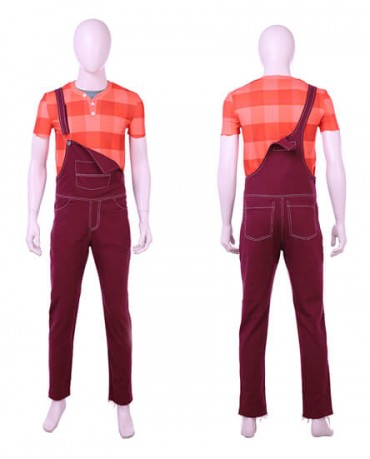 the latest 6a1ae 0fce4 HZYM Ralph Breaks the Internet Wreck-It Ralph 2 Ralph Cosplay Costume Outfit