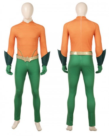 HZYM Movie Aquaman Arthur Curry Orin Cosplay Costume