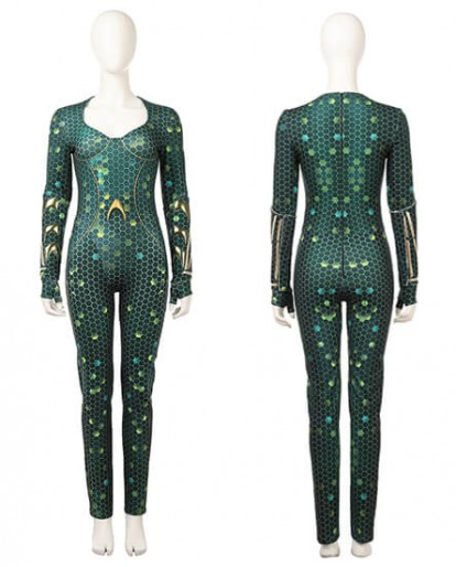 HZYM Movie Aquaman Mera Cosplay Costume