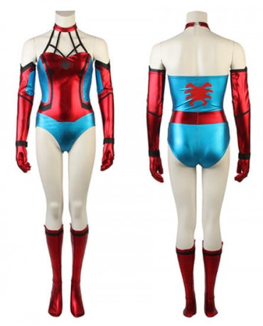Spider Man Spider Girl Costume Halloween Party Cosplay Female Jumpsuit