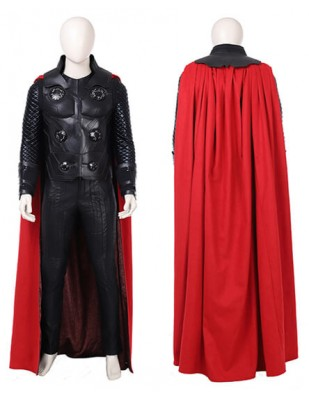 The Avengers 3 Superhero Thor Odinson Cosplay Costume